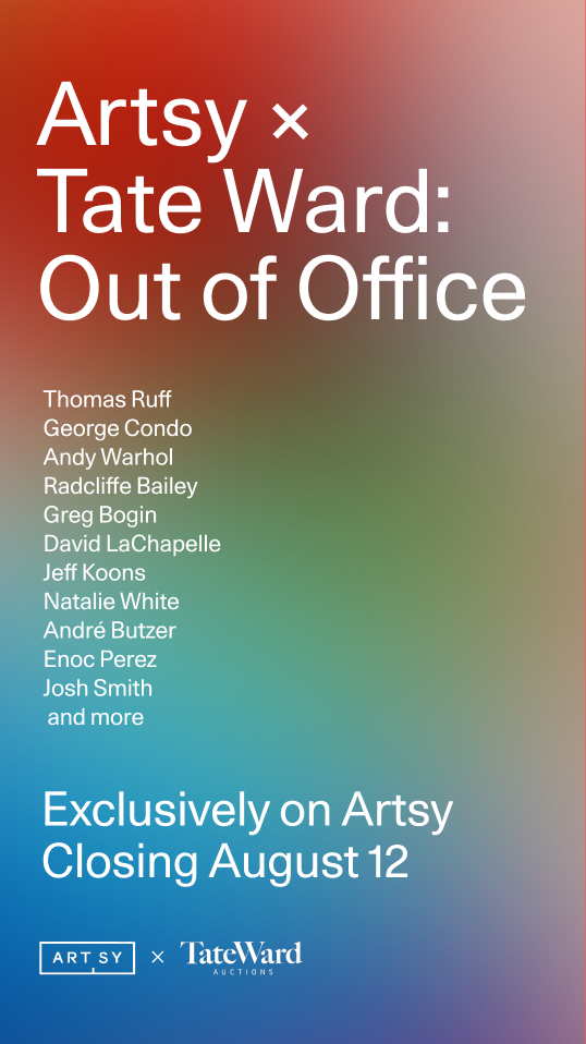 Tate Ward@Artsy - Out of Office