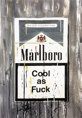 Lot 54 - Haut De Gamme (Alexander Hall), 'Marlboro, Cool As Fuck', 2017