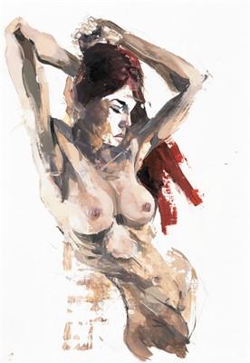 Lot 69 - Stephen Bunting (British), untitled, 2017, female nude