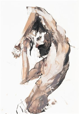 Lot 70 - Stephen Bunting (British), untitled, 2017, male nude
