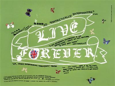 Lot 35 - Damien Hirst & Jason Beard (Collaboration), 'Live Forever', 2003