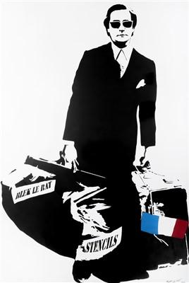 386 - Blek Le Rat (French b.1951), 'Man Who Walks Through Walls', 2006