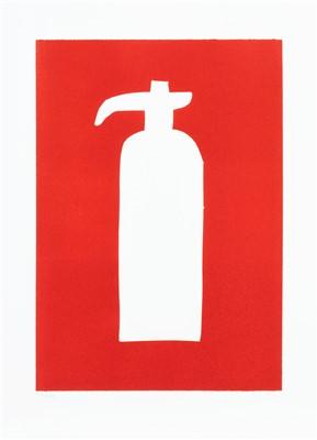 Lot 40 - David Shrigley (British b.1968), 'Fire Hydrant', 2014
