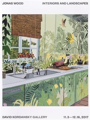 Lot 41 - Jonas Wood (American b.1977), 'Interiors And Landscapes', 2017