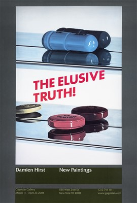 Lot 34 - Damien Hirst (British b.1965), 'The Elusive Truth', 2005