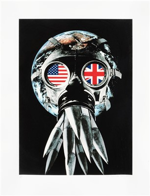 Lot 95 - Peter Kennard (British b.1949), 'Union Mask', 2007