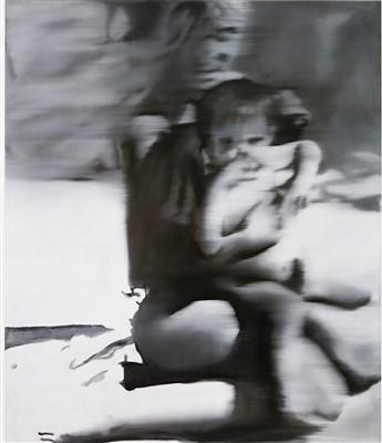 Lot 49 - Gerhard Richter (German b.1932), 'Frau Mit Kind, 1965 (Mother With Child)', 2005