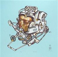 Lot 188 - David Choe (American b.1976), 'Helmet', 2007
