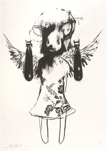 Lot 5 - Antony Micallef (British b.1975), 'Light Angel Bomber 1', 2006