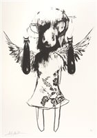 Lot 5-Antony Micallef (British b.1975), 'Light Angel Bomber 1', 2006