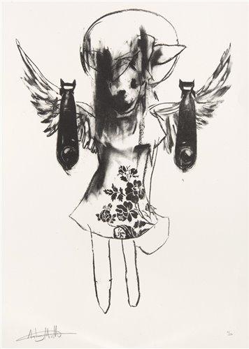 Lot 6 - Antony Micallef (British b.1975), 'Light Angel Bomber 2', 2006