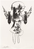 Lot 6-Antony Micallef (British b.1975), 'Light Angel Bomber 2', 2006