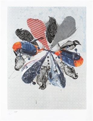 Lot 15 - Charming Baker & Olivia Kemp, 'Airbourne (I've Surprised Myself By Coming To Terms With The End Of The World)'