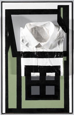 Lot 47 - Gary Mansfield & Richard Woods, 'Gary's Sculpture as a House Extension (Im' Perfect #7), 2019