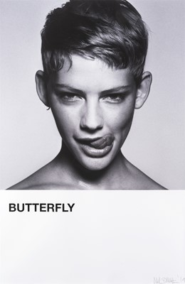 Lot 96 - Rankin & Nick Smith (Collaboration), 'Butterfly (Emily Close Up)' 2019, unique