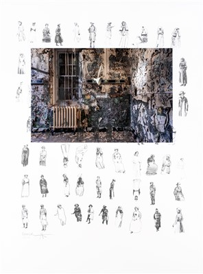 Lot 14 - Charming Baker & Gina Soden (Collaboration), 'Military Hospital/72 Women in Uniform, 2019