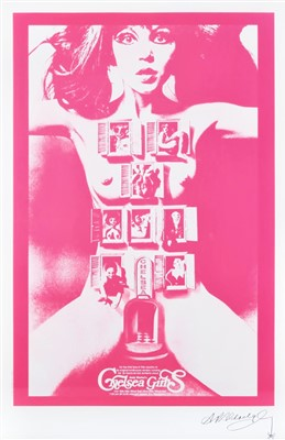 Lot 298-Alan Aldridge (British 1943-2017), 'Chelsea Girls (Pink)', 2005