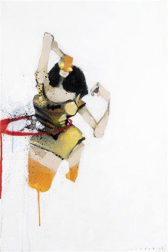 Lot 10 - Anthony Lister (Australian b.1979), 'Bat Girl Citrus', 2008