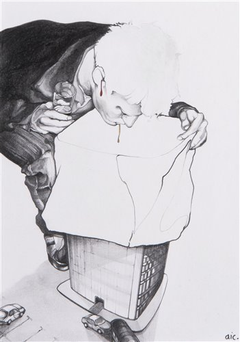 Lot 4 - Andrew Ingram (British), 'Odd Tower', 2010