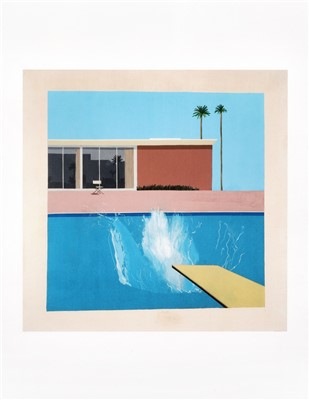 Lot 24 - David Hockney (British b.1937), 'A Bigger Splash 1967, Red Pots In The Garden 2000 & Gardens 2015'