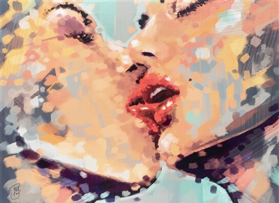 Lot 58 - Paul Bukowski, 'Just Another ... Kiss', 2012
