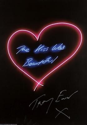 Lot 78 - Tracey Emin (British b.1963), 'The Kiss Was Beautiful', 2016