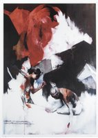Lot 60 - Ian Francis (British b.1979), 'Two People Spend A Day In The Snow', 2007