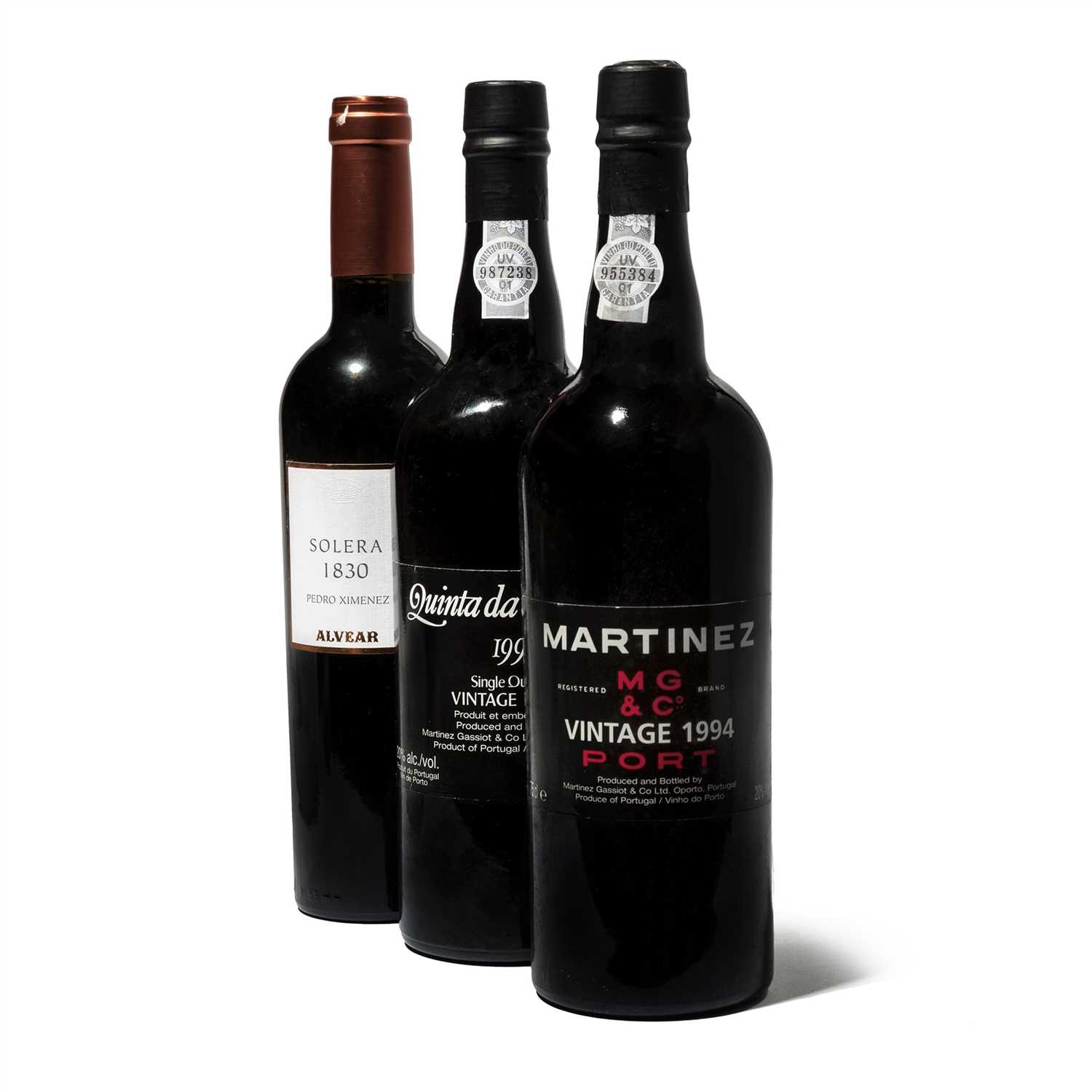 Lot 11-Mixed Port and Montilla