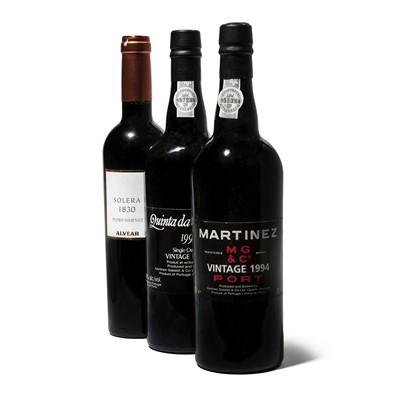 Lot 21-8 bottles Mixed Port and Montilla
