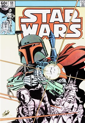 Lot 67 - Stan Lee (American 1922-2018), 'Star Wars #68 - The Search Begins'