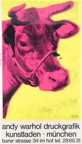 Lot 11 - Andy Warhol (American 1928-1987), 'Druckgrafik Kunstladen Munchen', circa 1970
