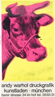 Lot 11-Andy Warhol (American 1928-1987), 'Druckgrafik Kunstladen Munchen', circa 1970