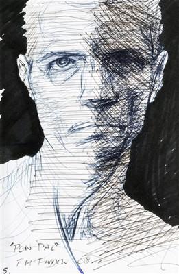 Lot 29 - Frank McFadden (Scottish b,1972), 'Pen Pal', 2008
