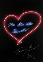 Lot 432-Tracey Emin (British b.1963), 'The Neons', a complete set of seven offset lithographs in colours