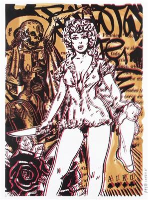 Lot 84 - Aiko (Japanese b.1975), 'Lady Kill (Nude)', 2008