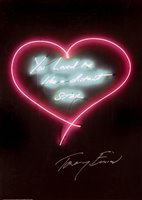 Lot 133 - Tracey Emin (British b.1963), 'You Loved me Like A Distant Star', 2016