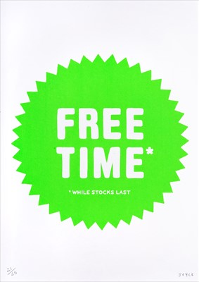 Lot 36 - James Joyce (British), 'Free Time', 2008