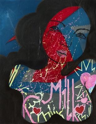 Lot 66 - Soey Milk (Korean b.1989), 'Sarah', 2008