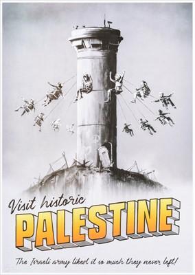Lot 93 - Banksy (British b.1974), 'Welcome To Palestine', 2018