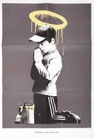 Lot 90 - Banksy (British b.1974), 'Forgive Us Our Trespassing', 2010