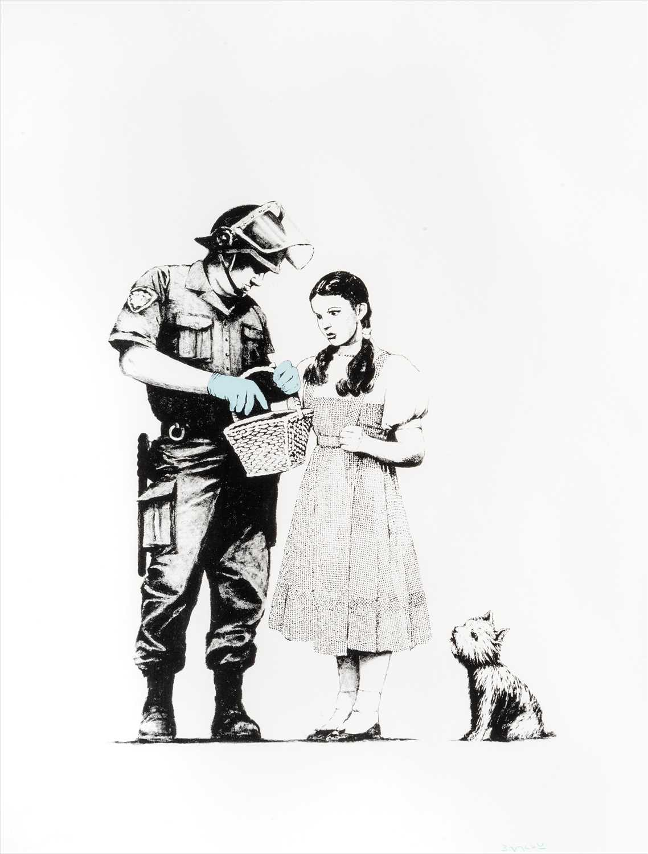 Lot 416-Banksy (British b. 1974), 'Stop & Search', 2007