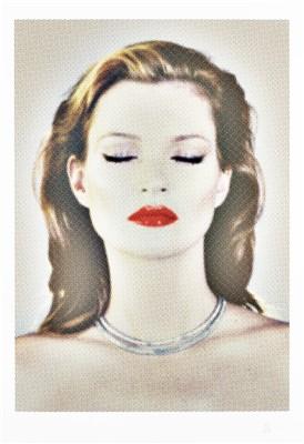Lot 9-Chris Levine (British b.1960), 'She's Light Kate Moss', 2011