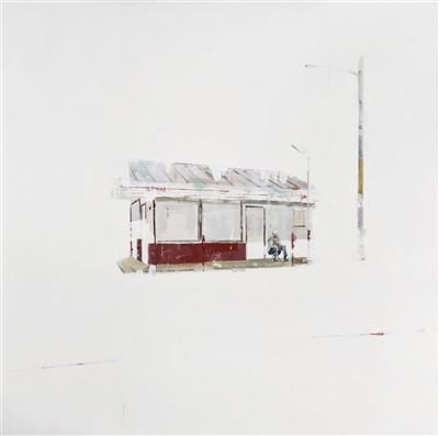 Lot 4-Brett Amory (American b.1975), 'Waiting #71', 2010