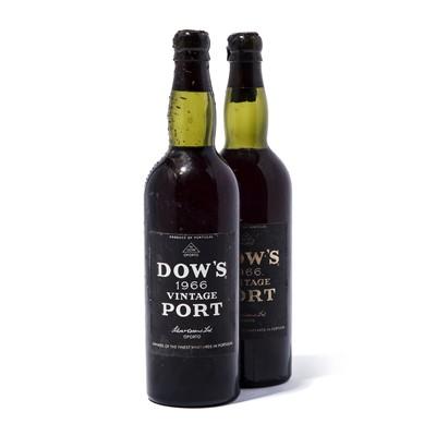 Lot 1-2 bottles 1966 Dow