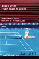 Lot 80 - Jonas Wood (American b.1977), 'Tennis Court Drawings', 2018