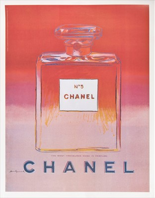 Lot 3-Andy Warhol (American 1928-1987), 'Chanel No.5', 1997