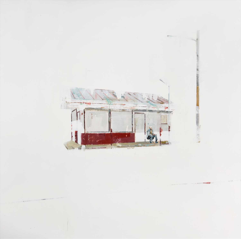 Lot 10-Brett Amory (American b.1975), 'Waiting #71', 2010
