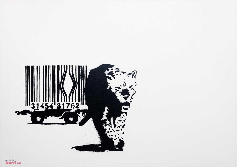 Lot 417 - Banksy (British b.1974), 'Barcode', 2003