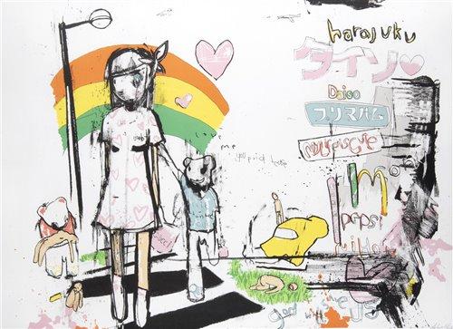 Lot 9 - Antony Micallef (British b.1975), 'My Walk In Harajuku', 2006