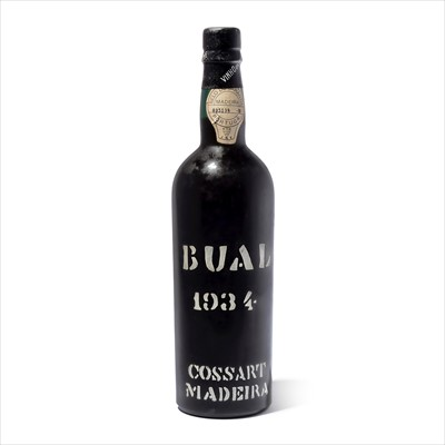 Lot 23-1 bottle 1934 Cossart & Gordon Bual